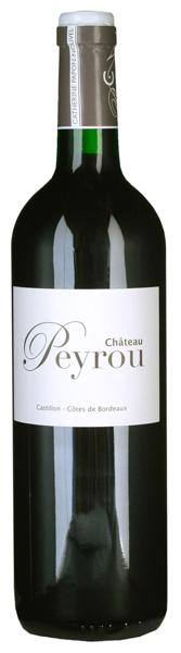 Château Peyrou, Castillon Côtes de Bordeaux AC 2010