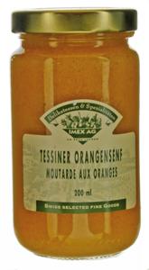 Tessiner Orangensenf 260g im Glas