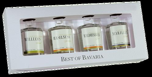 Fruchtbrände 4er-Set Best of Bavaria