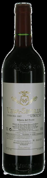 Vega Sicilia Unico 1987