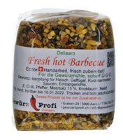 Fresh hot Barbecue scharf 100g