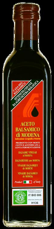 Aceto balsamico di Modena IGP BIO 3-jährig 500ml