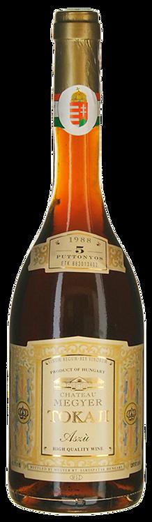Tokaji Aszù 5 Puttonyos 1988 Château Megyer