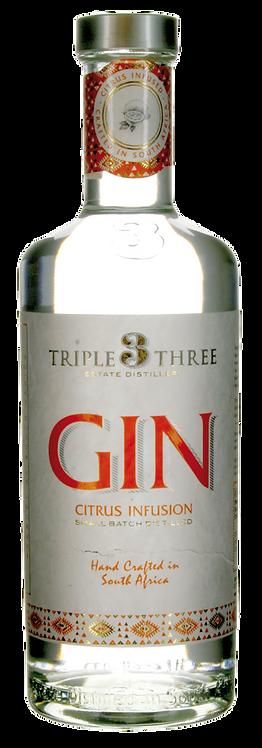 GIN Triple Three CITRUS Blaauwklippen-Destillerie Südafrika
