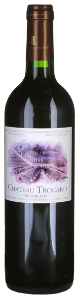 Château Trocard Monrepos Bordeaux supérieur 2010
