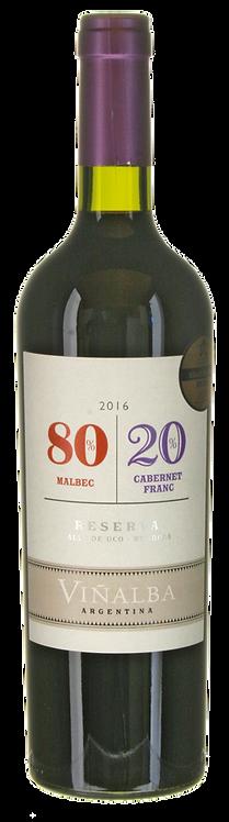 Malbec-Cabernet Franc 80/20 2016 Bodegas Viñalba