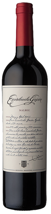 Malbec Estate Grown Mendoza 2018 Escorihuela 1884