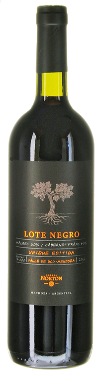 Lote Negro Unique Edition Mendoza 2016 Bodegas Norton