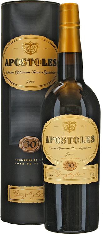 Sherry Apostoles 30 Years Gonzalez Byass