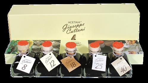 Balsamico-Geschenk-Set (Acetaia Giuseppe Cattani)