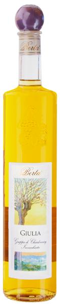 Grappa Giulia di Chardonnay Distillerie Berta