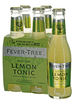 Fever-Tree Sicilian Lemon Tonic with natural quinine  200cl