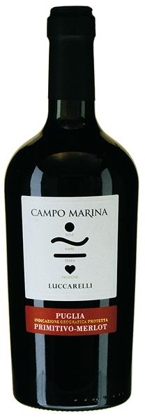 Campo Marina Primitivo-Merlot 2017 Luccarelli