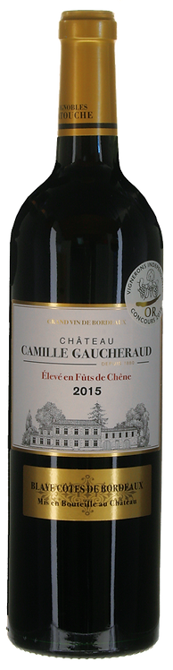 Château Camille Gaucheraud, Blaye AC 2015