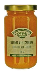 Tessiner Aprikosensenf 260g im Glas