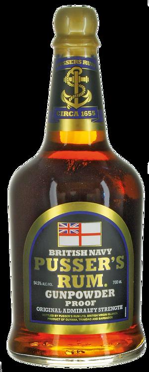 Gunpowder Rum Pusser's British Navy, Karibik