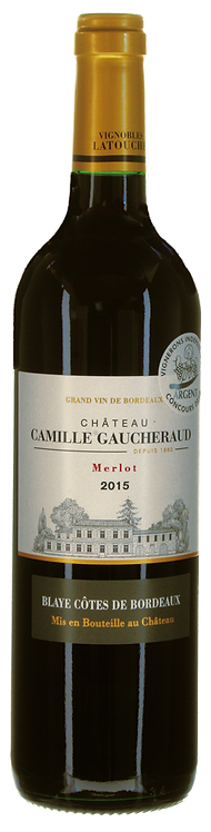 Merlot 2015 Château Camille Gaucheraud, Blaye