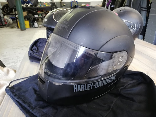 Helmet - Harley Davidson full face - matt black - medium