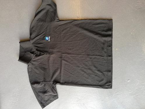 Shark Black Golf Shirt - Size S