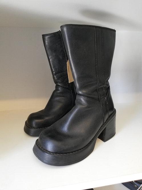 Ladies Heel Boots - Size 4