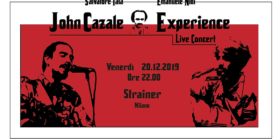 John Cazale Experience Live