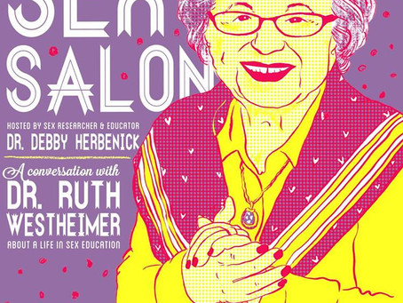 Dr. Ruth Westheimer, Bloomington Sex Salon