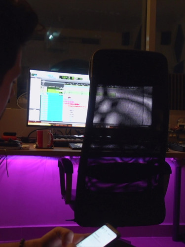 In The Studio - K.K.