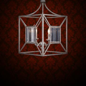 Cube Chandelier