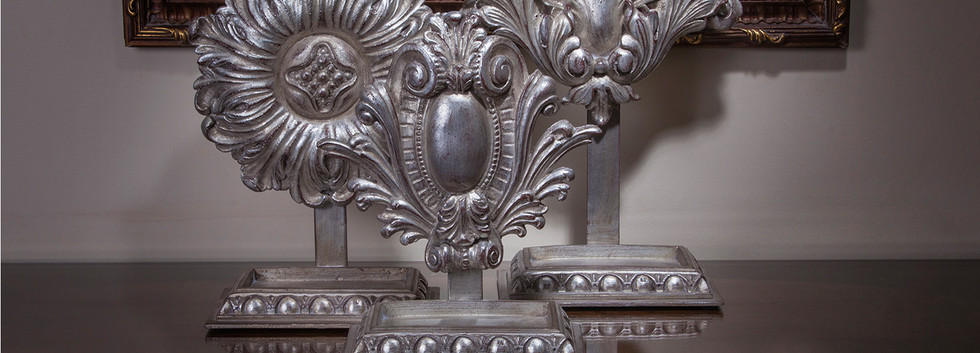 Rozetta Stand Silver