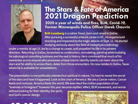 The Stars & Fate of America 2021 Dragon Prediction