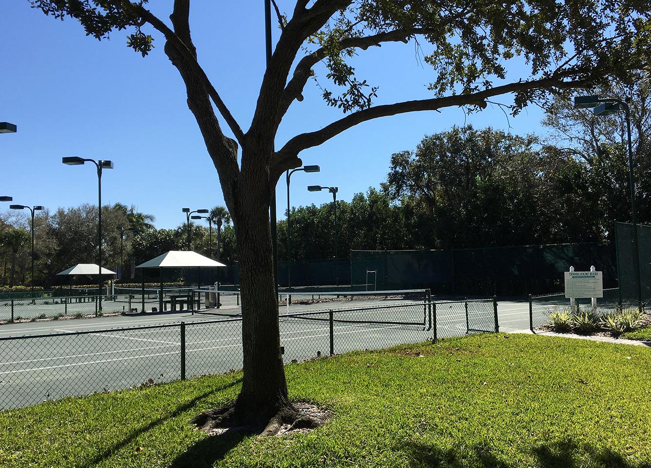 3 Har-Tru Tennis Courts