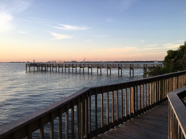 Fishing Pier on Boca Ciega Bay