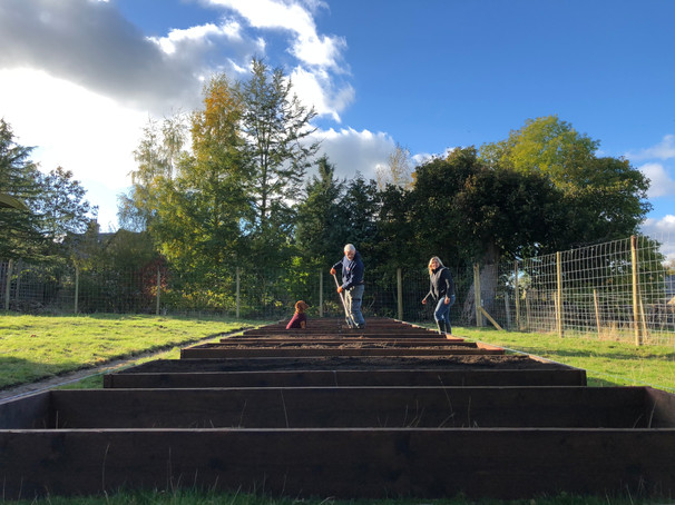 FILLING THE RAISED BEDS.JPG