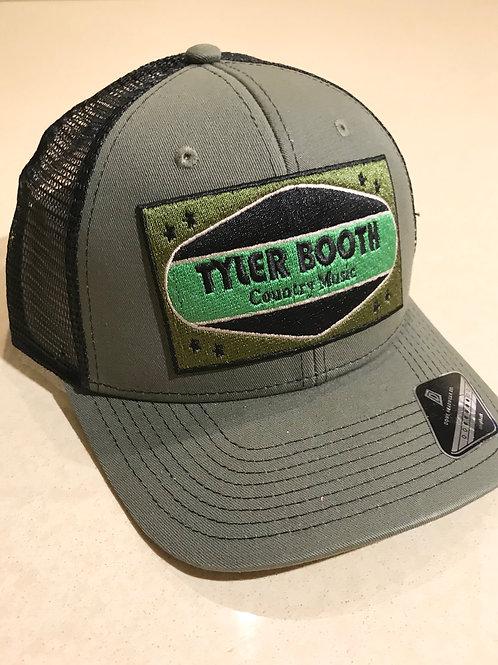 TYLER BOOTH TRUCKER HAT (GREEN)