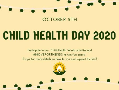 CPDM Child Heath Day Celebration