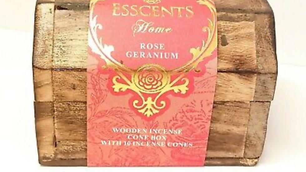 Esscents Rose Geranium incense