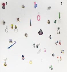 exhibitions, installations, junk jewels