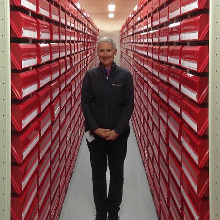 Karina Knight's red boxes