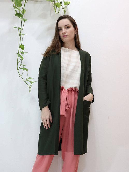 Casaco Folha Verde