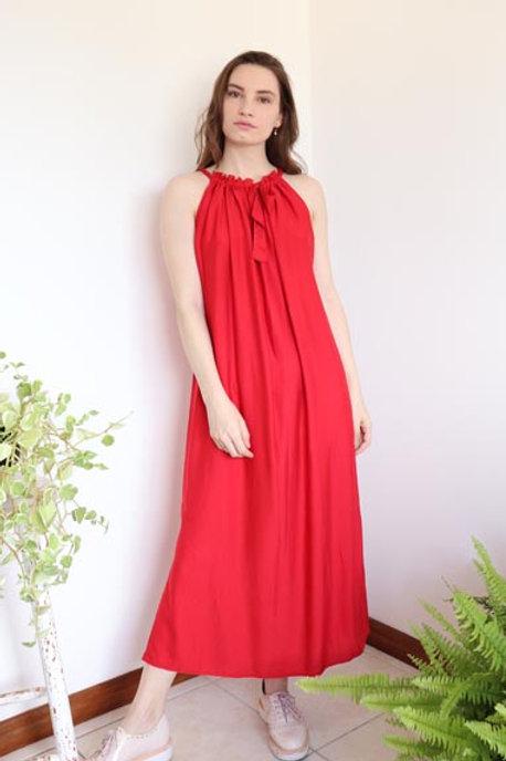 Vestido Amapola Vermelho