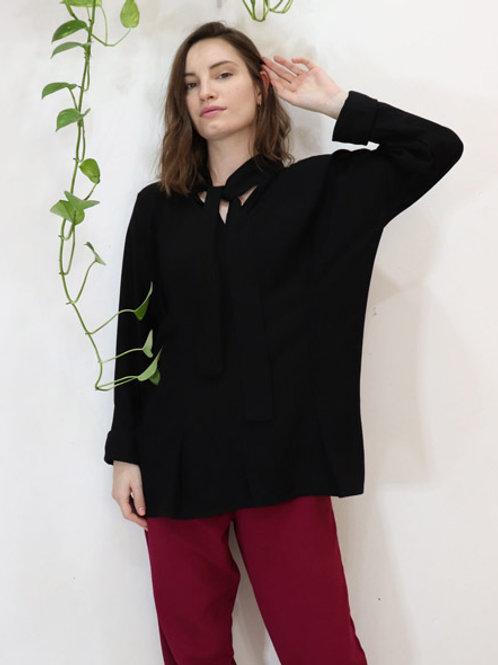 Camisa Orquídea Preta