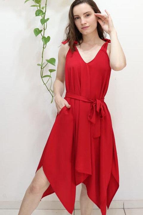 Vestido Lírio Vermelho