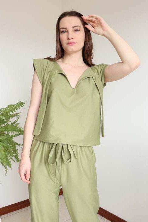 Blusa Metamorfose Verde