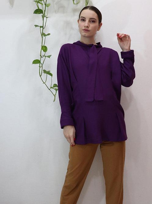 Camisa Orquídea Roxa