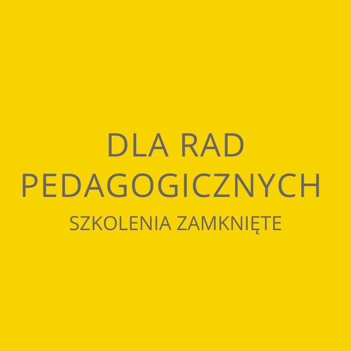 Dla rad pedagogicznych szkolenia zamknięte Fundacji Pomoc Autyzm
