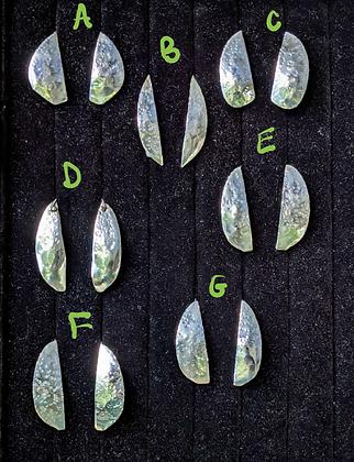 Earrings, Flats, Set 1