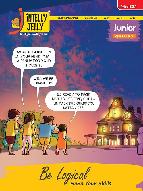 iNTELLYJELLY   Junior (4-8)                       Six Monthly Subscription
