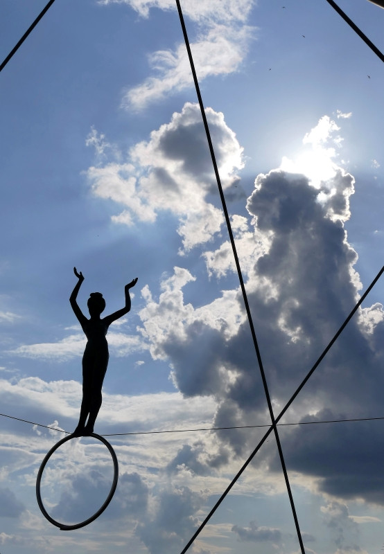 Dancers in the sky 1