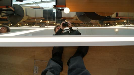 Reflektion - selbst (Vita Designmuseum)
