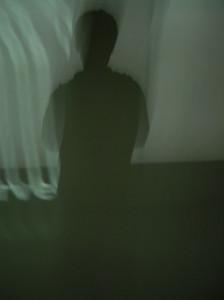 Schattenreflektion bewegt